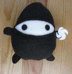 Ninja Egg Plush by Neoitvaluocsol
