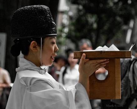 Shinto Priest by Kekilen