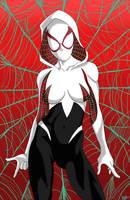 Spider-Verse  Gwen Stacy Spider girl by THEZERO4
