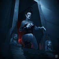 Bodhi - Baldur's Gate II by QueenAsylum