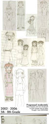 Seven Years of sketchs by Faithless-Wife