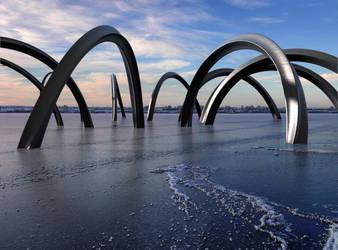Frozen Steel by Nimja