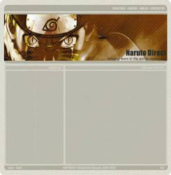NarutoDirect Layout by xSubstancex