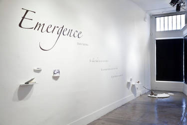 Emergence Title Wall by Tofubunnny