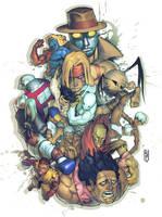 Street Fighter Tribute by Xeromander