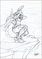 riley gravity sketch by Xeromander