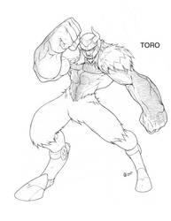 toro_bug_linework by Xeromander