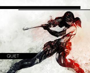 Quiet (MGSV) by Xeromander