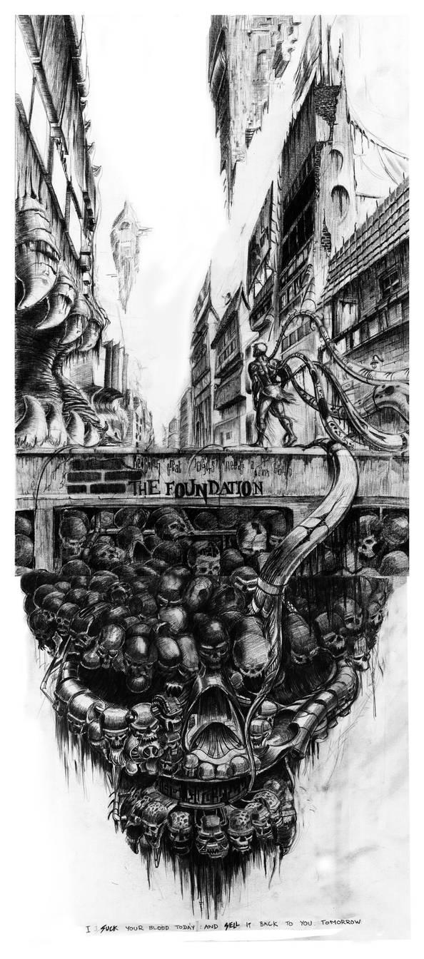 Sketch The Foundation by toonrama