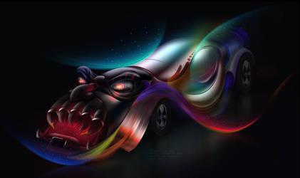 Fantasy Car by toonrama