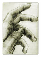 Hand sketch by toonrama
