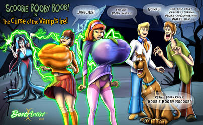 Scooby Booby Boob! by BustArtist