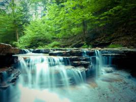Ghost Falls by JohnKyo