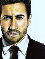 Jake Gyllenhaal.. by KdsArt