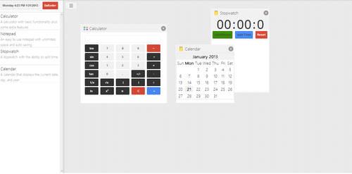 Online Dashboard Preview 1 by DaKoder