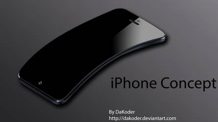 The Next iPhone Concept by DaKoder