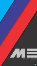 [MinFlat] BMW M Performance Mobile Wallpaper (2K) by DaKoder