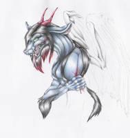 Pencil Dragon by tastelessfate