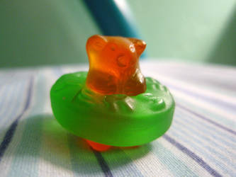 Gummy Bear and Life Saver by Cassluvsmusic