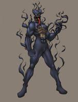 venom-torch colored by shalomone