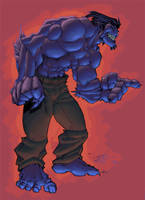 the beast colored by shalomone