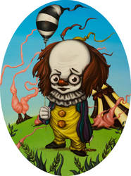 PENNYWISE by maximusmagno