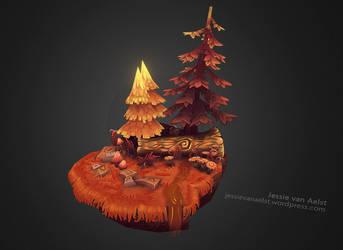 Forest Scene Touchup by sweetangel0467