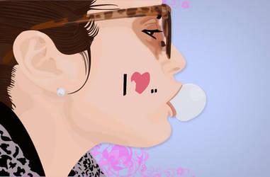 Bubble Gum by CoolmanGonzalez