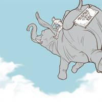 Ride the Elephant by Ill-wovenElm