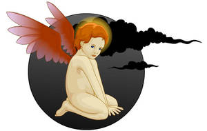 The cherub that ate my SOUL by Ill-wovenElm