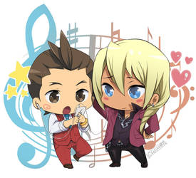 Klapollo Chibi Commission by GLFlayART