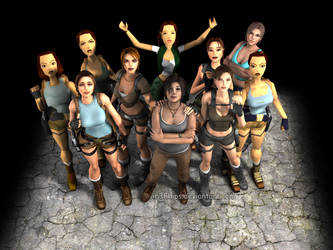 Tomb Raider: Lara Croft....The Legacy by Irishhips