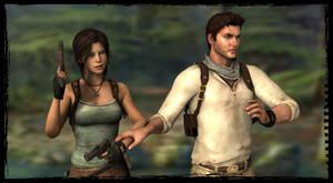 Lara and Nathan: Wait, I See Something! by Irishhips