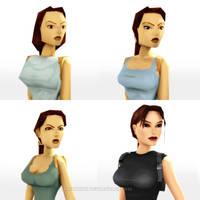 Tomb Raider Classic: Core's Laras by Irishhips