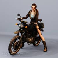Tomb Raider: Ride On by Irishhips