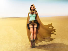 Tomb Raider: While In Egypt... by Irishhips