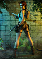 Tomb Raider: Buns Of Steel by Irishhips