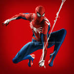 Insomniac's Spider-Man (2018) by Irishhips