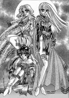Magic Knight Rayearth by Rin-Shiba