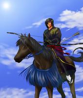 Date Masamune - For Jayne by Rin-Shiba