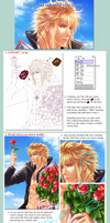 Basic Tutorial - How to change your Lineart Colour by Rin-Shiba