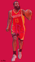 James Harden Phone Wallpaper by nhojsasoy13