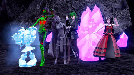 Welcome to the Gorgon's Lair! - NEW ASFR DISCORD by Sofia-MMD