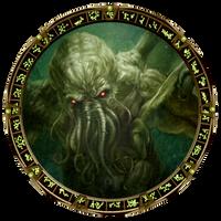 Cthulhu Stargate by OliverInk