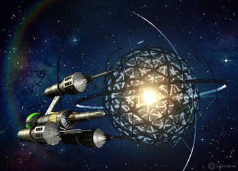 Liberator @ Dyson Sphere by OliverInk