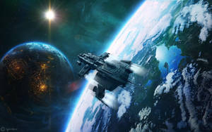 Escape Velocity by OliverInk