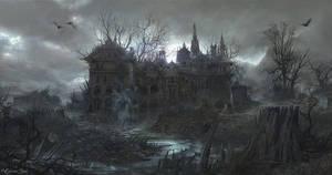 Chateau De Los Muertos by OliverInk