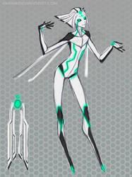 Digital Space Faerie AI by Riyami