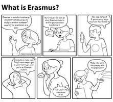 What is Erasmus? by scribblepuff