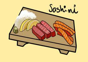Sashimi by scribblepuff